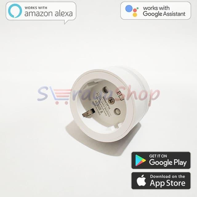 Foto Produk Smart Socket WiFi With LED Night Lamp And Power Monitor ELJ dari Seraya Shop
