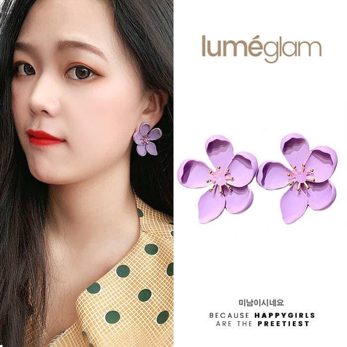 Foto Produk Anting Korea Bunga Lavender Ungu dari SMART Shop Link