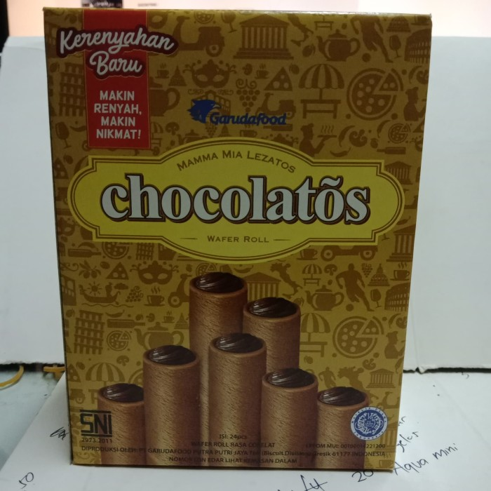 Foto Produk Gery Chocolatos isi 24 pcs dari WENS SHOPPEE