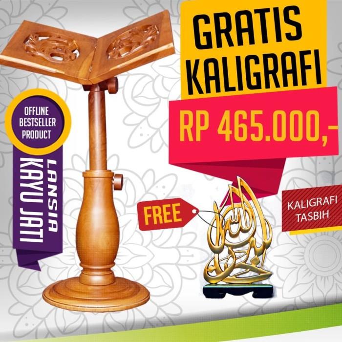 Foto Produk Rehal/Rekal Lansia (free kaligrafi tasbih) dari DistributorBuku