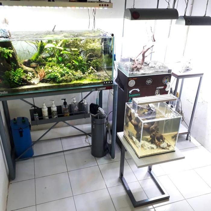 Jual Cabinet Aquascape Meja Minimalis Meja Aquarium Kota Bekasi Raffa Aquatic Tokopedia