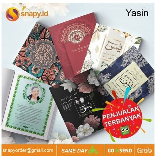 Foto Produk Buku Yasin Surat Yasin Yasin Murah Yasin Tahlil Yasin dari snapy