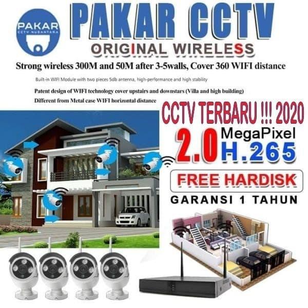 Jual CCTV WIFI / IP KAMERA CCTV TERMURAH - Jakarta Timur