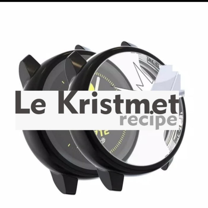 Foto Produk Samsung Galaxy Watch Active 40 mm case Cover Full Color dari Le Krismet Recipe
