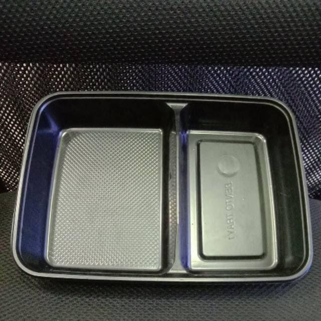 Foto Produk mika box tray bento RTR 232 - 50pcs dari Amanamart
