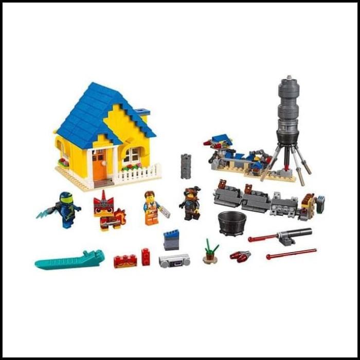Jual The Lego Movie 2 Emmet S Dream House Rescue Rocket 70831 Jakarta Selatan Bella Paramita Tokopedia