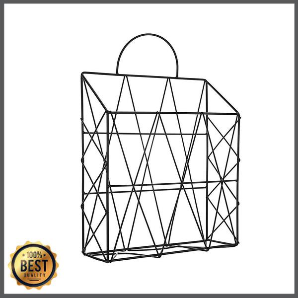 Jual Tq Modern Metal Wire Wall Hanging Shelf Baskets Rack Newspaper Jakarta Selatan Sokilstore Tokopedia