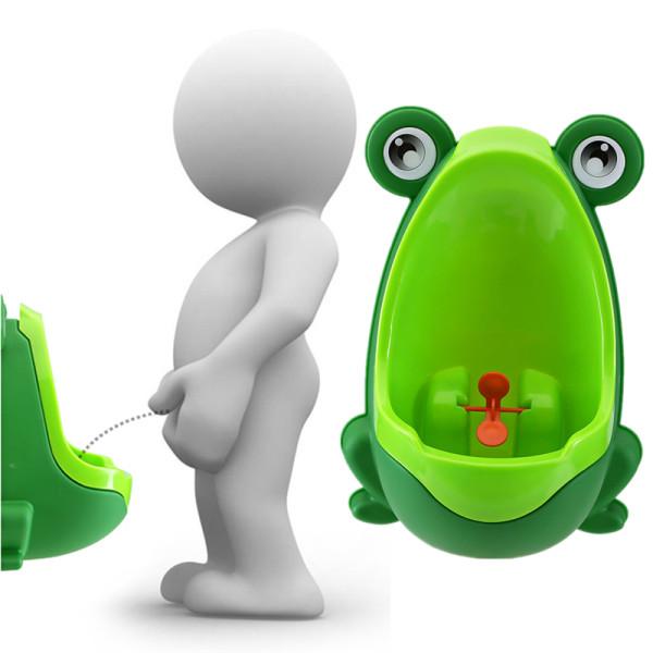 Hot Wall-hanging Children Boy Standing Frog Urinal Strong Sucker Toilet Training