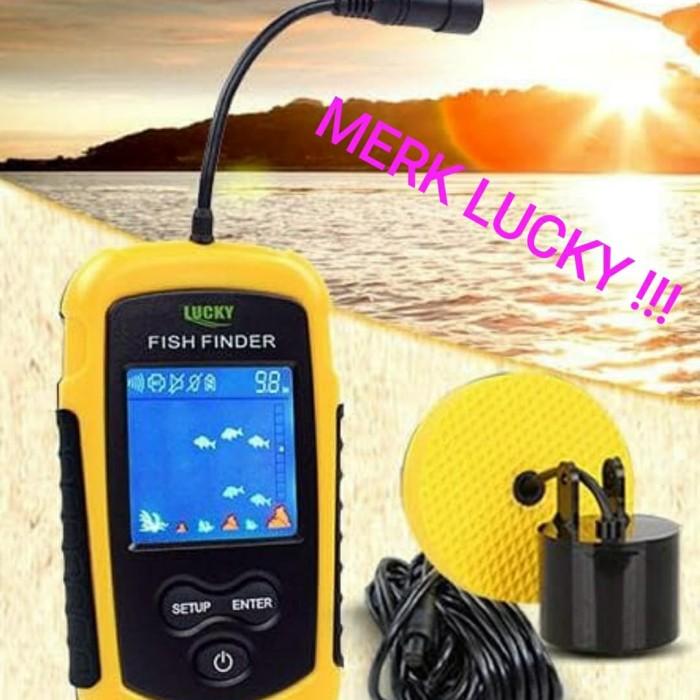Foto Produk COLOR BERWARNA Fish Finder 2.0 inch Alat deteksi sonar ikan fishfinder dari TOKO NK