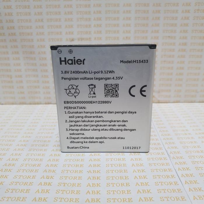 Foto Produk Batre Baterai Battery HAIER Andromax L H15433 B26D2H Original 100% dari ABK STORE