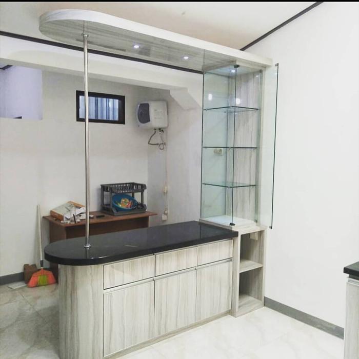 Jual Meja Bar Hpl Meja Bar Duco Kitchen Set Minimalis Kab Bekasi D5 Furniture Tokopedia