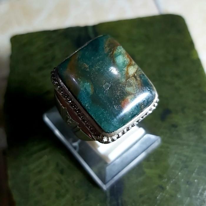 Foto Produk Garut Pancawarna - Cincin Batu Akik dari No Label Distro