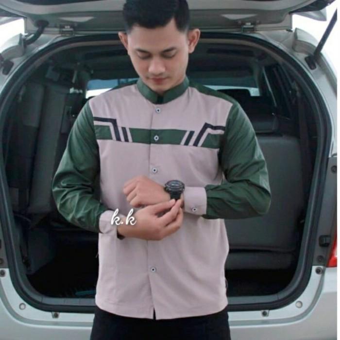 Foto Produk Baju atasan pria kemeja koko muslim 04 dari Furicollection12