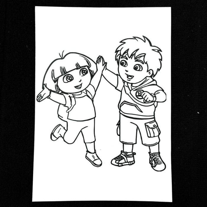 Jual Terhot Kertas Mewarnai Gambar Karakter Kartun Anak Warna Coloring Jakarta Selatan Nur Annisa10 Tokopedia