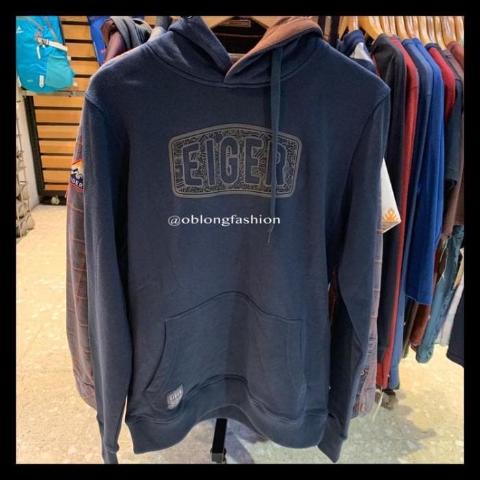 Jual Promo Eiger Jacket Sweater Michigan Hoodie Navy Termurah Best Seller Jakarta Barat Niastore33 Tokopedia