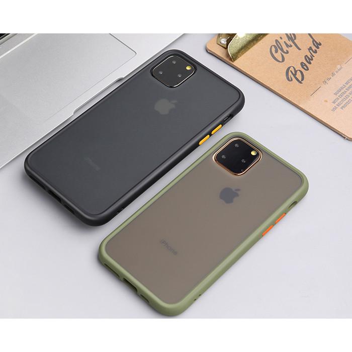 Foto Produk Lucid Case Iphone 7 7+ 8 8 Plus X XR Xs Max 11 Pro Max Casing Cover - Putih dari BreakBox Store