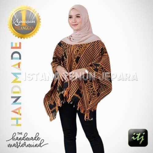 Jual Model Baju Tenun Terbaru Blouse Kelelawar Full Tenun Blanket Kab Jepara Istana Tenun Jepara Tokopedia