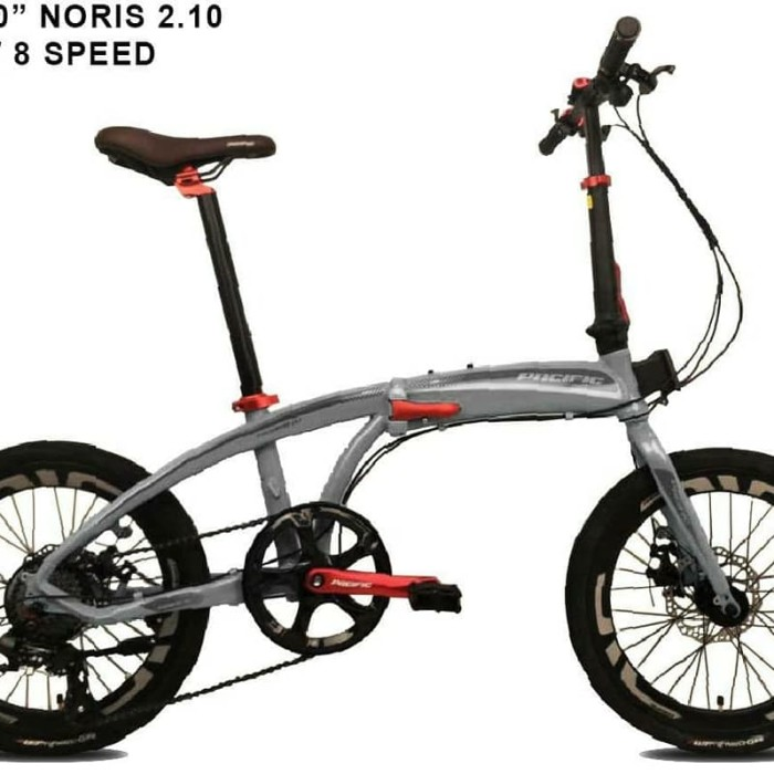 Jual Sepeda Lipat 20 Pacific Noris 2.1 Jakarta Timur