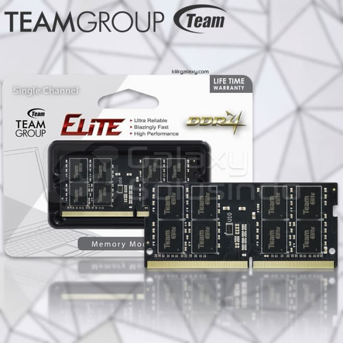 Foto Produk Memory Ram Laptop TEAM ELITE SODIMM 8GB DDR4 PC21300 2666mhz dari MOBA GAMERS