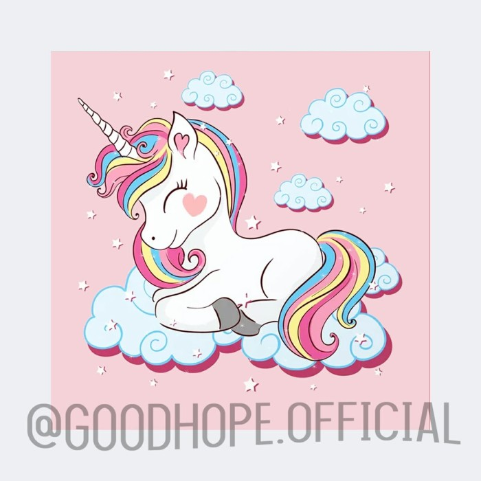 jual unicorn  hiasan dinding anak anak dekorasi kamar
