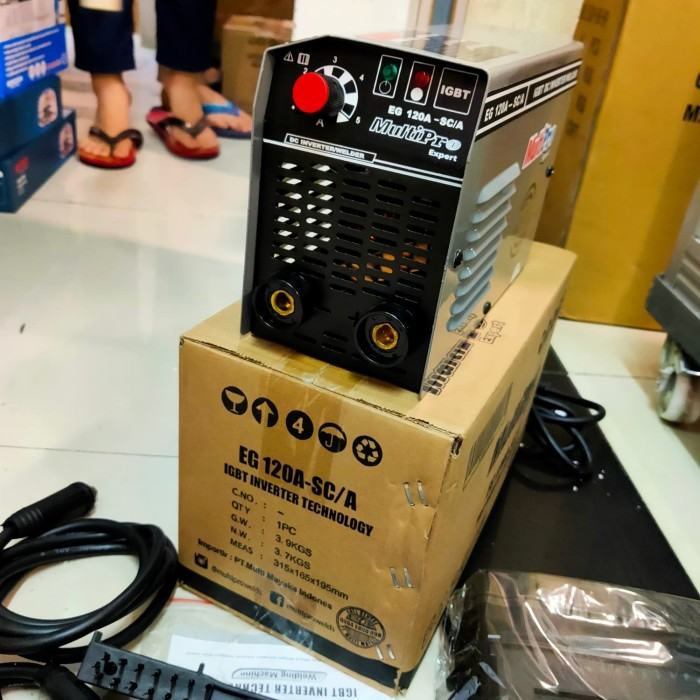 Foto Produk Mesin trafo las 450 watt EG 120 A - SC MULTIPRO inverter 450watt 120a dari Bangun Teknik