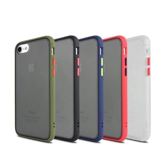 Foto Produk Iphone 7/8 Soft Case Matte Armor Colored Froasted Macaron dari sense accessories