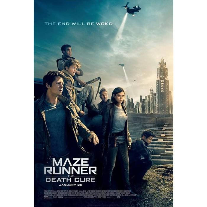 Jual Dvd Maze Runner The Death Cure 2018 Jakarta Barat Idmovies Tokopedia