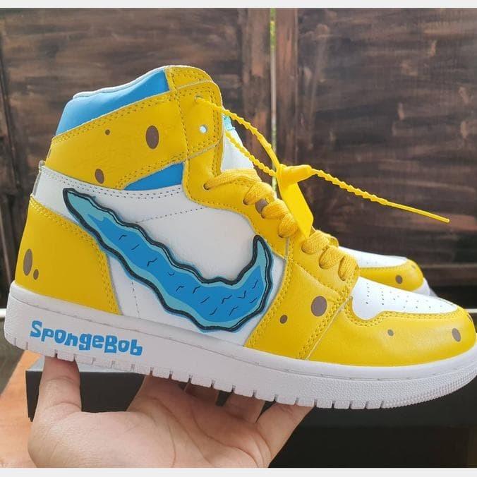 jordan 1 spongebob