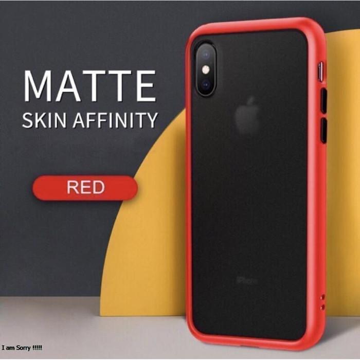 Foto Produk Premium Quality Hybrid Matte Case Iphone !! IP 11 11 PRO 11 PRO MAX - Merah, IP X XS dari WinStore-