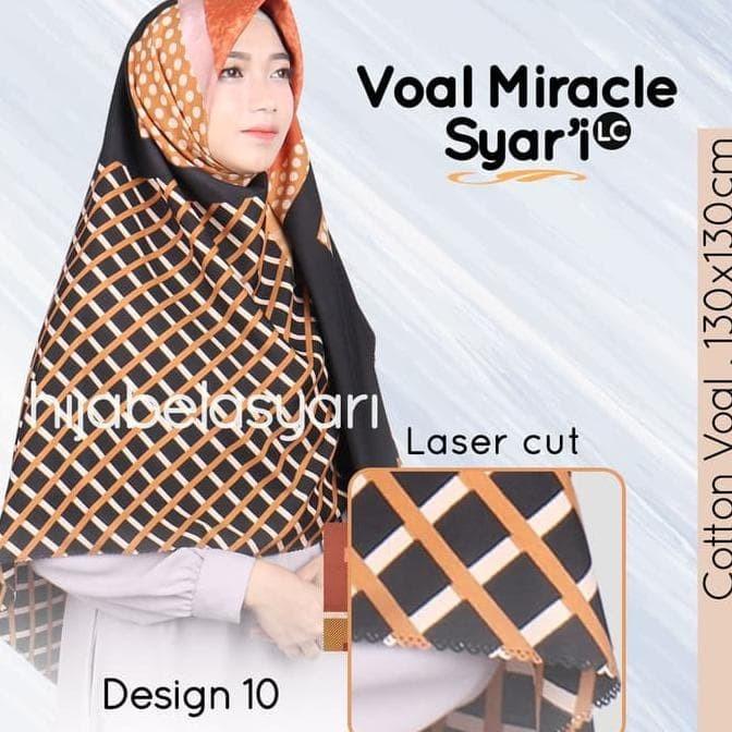 Jual D10 Hijab Jilbab Kerudung Segi Empat Voal Motif Jumbo Syari Umama Jakarta Barat Ade Srimulyatishop Tokopedia