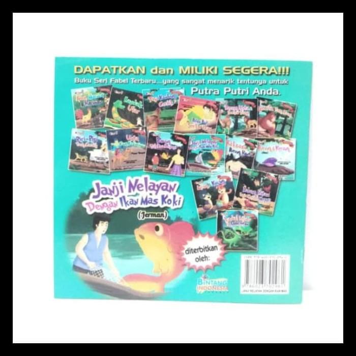 Gambar Nelayan Dan Ikan Mas Jual Buku Cerita Edukasi Seri Fabel Dunia Janji Nelayan Dg Ikan Mas Koki Kab Bekasi Najwan Ambyarsador Tokopedia