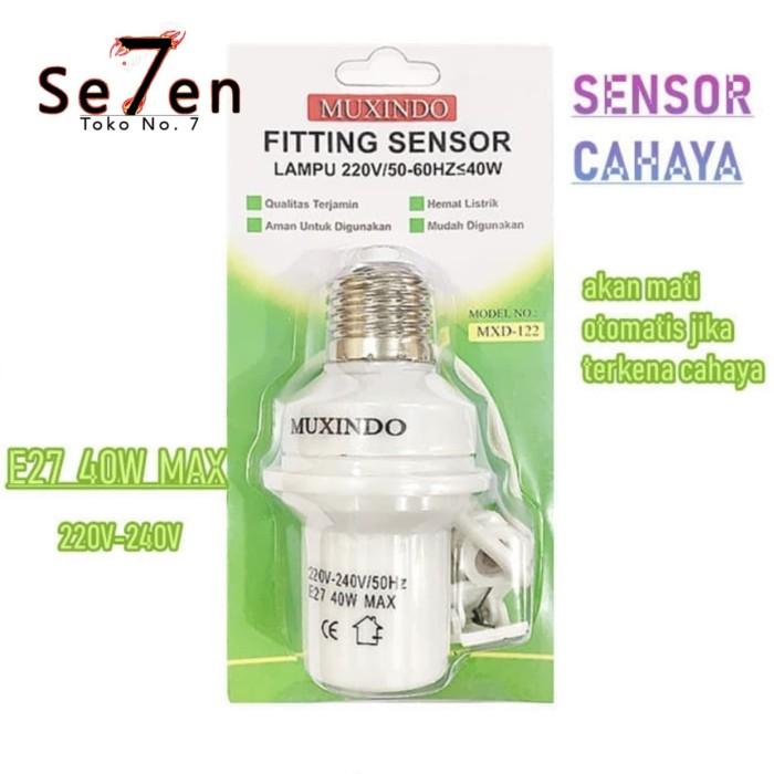 Foto Produk Fitting Lampu Sensor Cahaya Otomatis Untuk Segala Lampu 122 dari Toko No.7