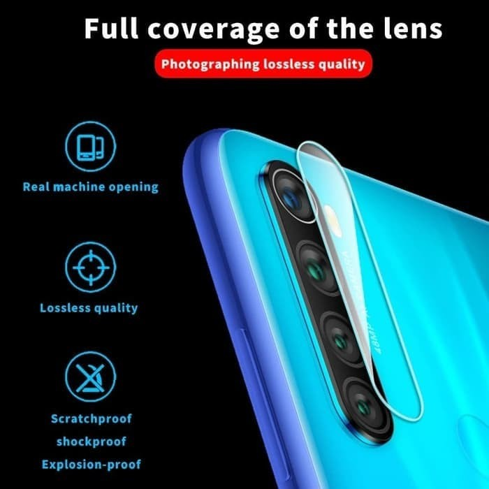 Foto Produk REALME 5i TEMPERED GLASS CAMERA ANTI GORES KAMERA dari Urban Story