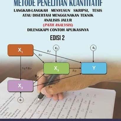 Jual Metode Penelitian Kuantitatif Edisi 2 Jakarta Barat S