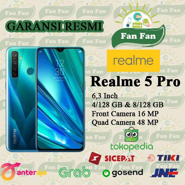 Foto Produk REALME 5 PRO 4/128 GARANSI RESMI REALME INDONESIA - Hijau dari FAN FAN SHOPP