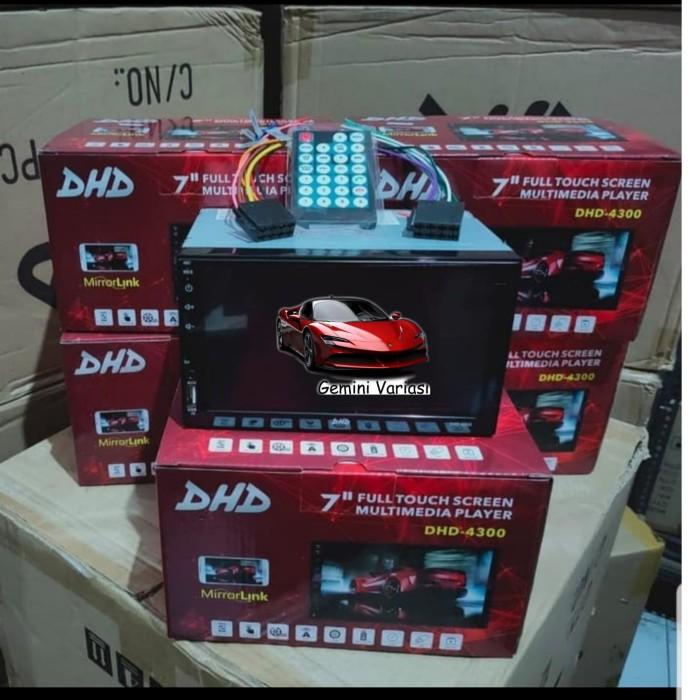 Foto Produk TOYOTA AVANZA VVTI DOUBLE DIN HEAD UNIT DHD 8113 MIRROR LINK USB MP 5 dari gemini variasi