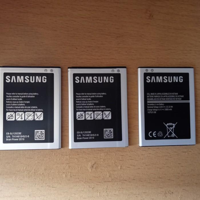 Foto Produk Batre batrai baterai samsung galaxy j1 2016 j120 dari Liuwen shop