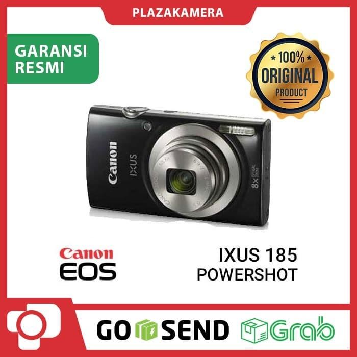 Foto Produk Canon Digital IXUS 185 Black dari PlazaKamera