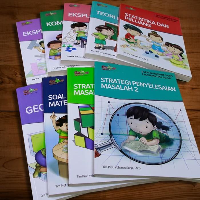 Foto Produk 9 Buku Seri Olimpiade Matematika SD by Tim Prof. Yohanes Surya dari Gasingpedia