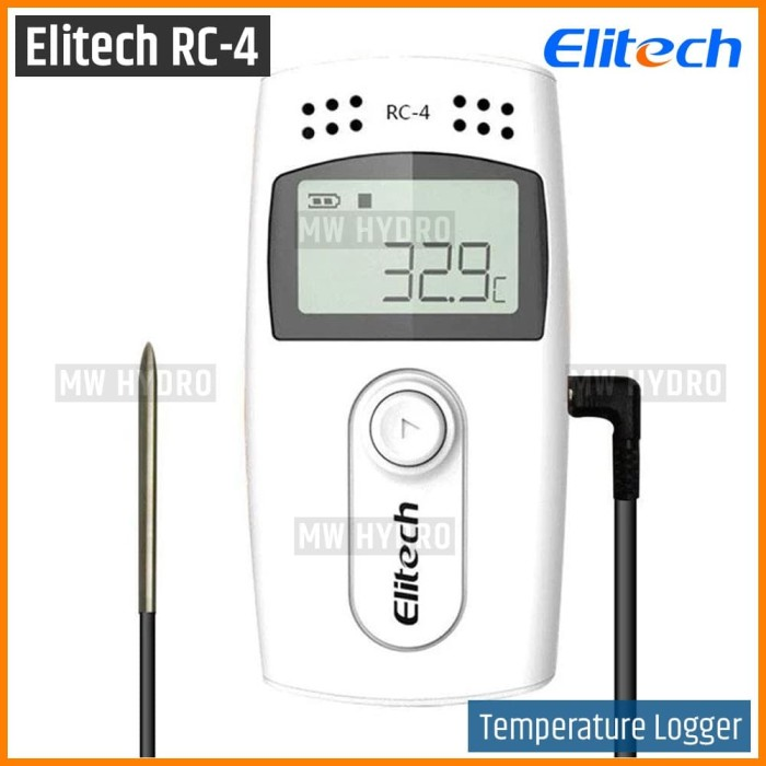Foto Produk Elitech RC-4 / RC4 - USB Temperature Data Logger dari MW Hydro