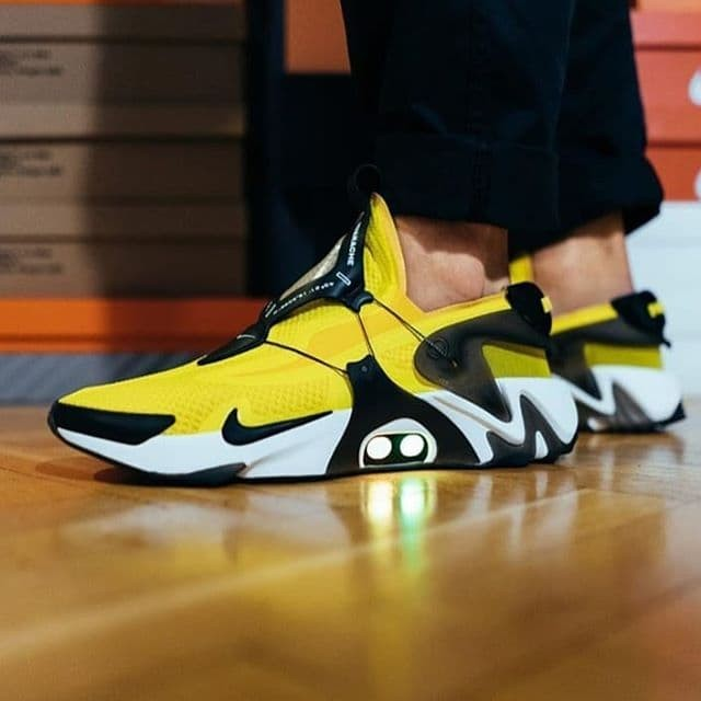 Jual Nike Adapt Huarache Opti Yellow Sneakers Hype Unisex Jakarta Selatan Hnsneakers Tokopedia