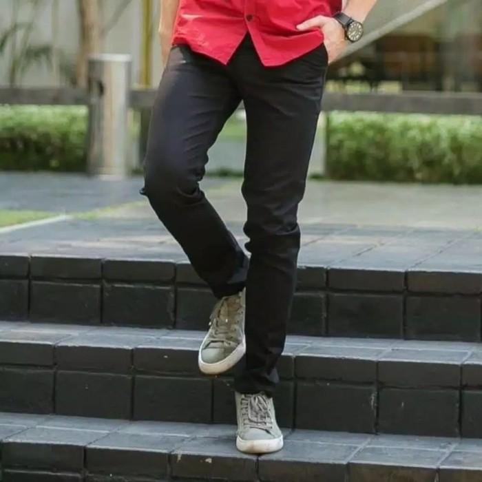 Foto Produk celana panjang chino termurah - Hitam, 22 dari NISYHA_SHOP