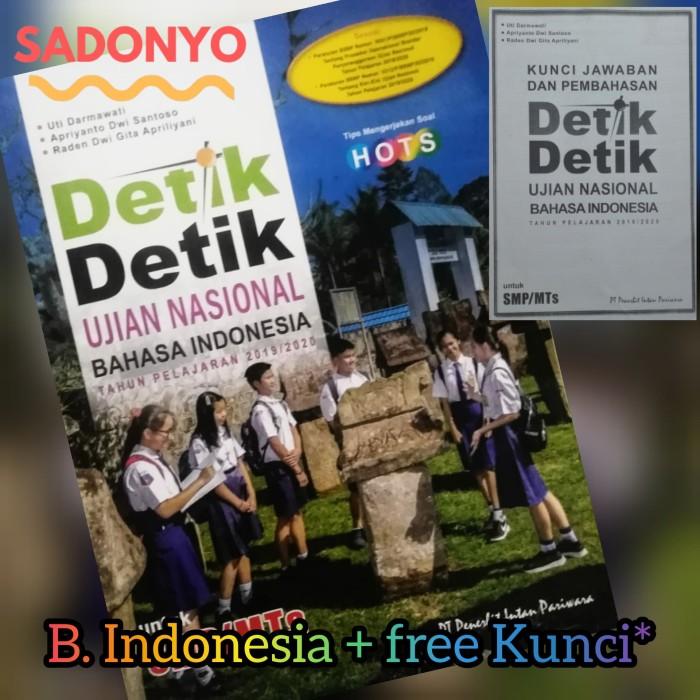 Jual Eceran Detik Detik Un Smp Mts 2020 B Indonesia Intan P Fc Kunci Kab Sidoarjo Sadonyo Tokopedia