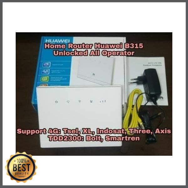 Jual Home Router Wifi Cpe Huawei B315 Unlock All Operator Jakarta Barat Devinash0p Tokopedia