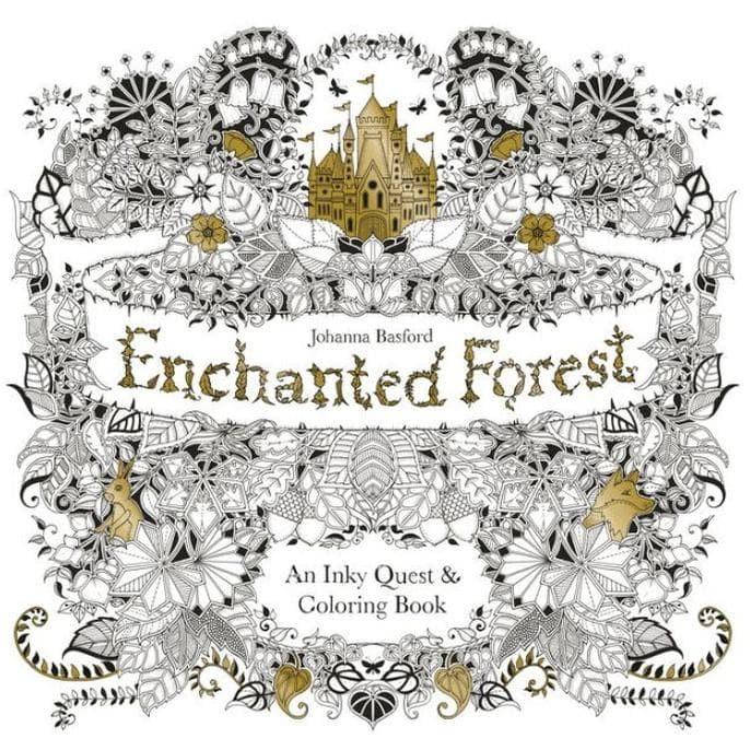 Jual Jagonya Lapak Buku Enchanted Forest Coloring Book Art Therapy Silahkan Jakarta Barat Backboneshop1 Tokopedia