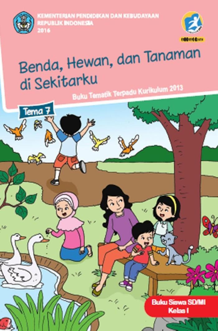 Jual Tematik Kls 1 Tema 7 Benda Hewan Dan Tanaman Di Sekitarku Jakarta Selatan Jumanzi Trez 22 Tokopedia