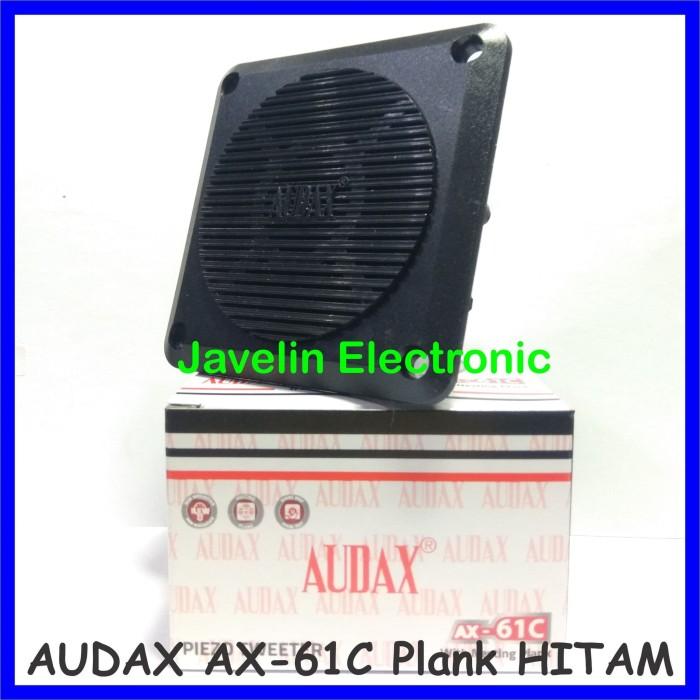 Foto Produk Tweeter AUDAX AX-61C / AX-61-C Nesting Plank Hitam Walet AX61C dari Javelin Electronic