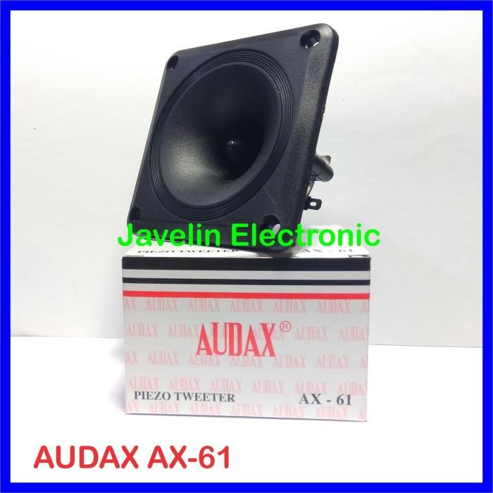 Foto Produk Tweeter AUDAX AX-61 / Tweeter Burung Walet AX 61 / AX61 dari Javelin Electronic