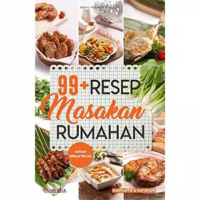 Jual 99 Resep Masakan Rumahan Jakarta Selatan Raybookstore