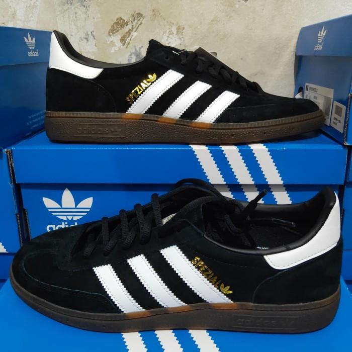 Jual Adidas Spezial Black - Hitam, 44.5
